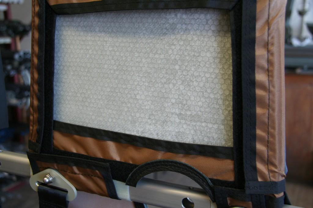 Herstellung Wabenkopfstütze für Heli 1000