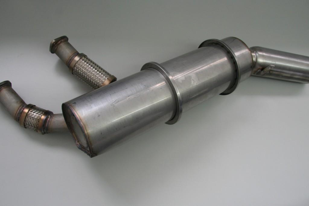 Herstellung FVA-Abgasanlage